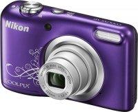 Цифровой фотоаппарат Nikon Coolpix A10 Purple Lineart (VNA983E1)