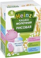 Молочная питьевая каша Heinz Рисовая, 200 мл