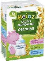 Молочная питьевая каша Heinz Овсяная, 200 мл