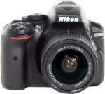 Зеркальный фотоаппарат Nikon D5300 Kit 18-55mm VR AF-P Black