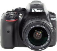 Зеркальный фотоаппарат Nikon D5300 Kit 18-55mm VR AF-P Black фото