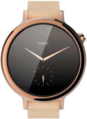Умные часы Moto 360 42mm Ladies Gold - купить умные часы MOTOROLA Moto 360  42mm Ladies Gold по выгодной цене в интернет-магазине ЭЛЬДОРАДО с доставкой  в ... aed55aa09c5