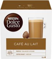 натуральный соевый лецитин 100 капсул solgar специальные добавки Кофе в капсулах Nescafe Dolce Gusto Cafe Au Lait