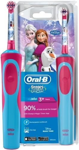 Электрическая зубная щетка Oral-B Vitality D12.513K Frozen Kids - купить  зубную щетку и центр BRAUN Oral-B Vitality D12.513K Frozen Kids по выгодной  цене в ... 39bb5b7423799