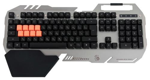 Купить Игровая клавиатура A4Tech, Bloody B418 Black