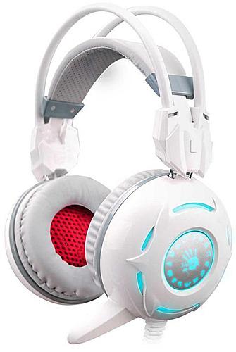 Купить Игровые наушники A4Tech, Bloody G300 White