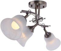 Светильник потолочный Idlamp Paolina 851/3PF-Oldbronze