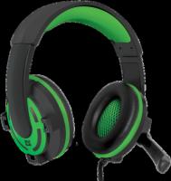 Игровые наушники Defender Warhead G-300 Green
