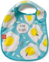 Нагрудник на липучке Happy Baby Waterproof Baby Bib Blue, 16009