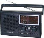 Радио Supra ST-126 Black