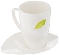 Чайная кружка с блюдцем Tescoma Yasmin (387590) фото