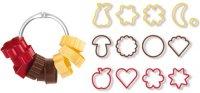 Традиционные формочки для печенья Tescoma Delicia, 13 шт (630900)
