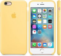 Чехол Apple Silicone Case для iPhone 6/6s Yellow (MM662ZM/A)