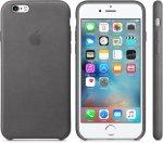 Чехол Apple Leather Case для iPhone 6/6s Storm Gray (MM4D2ZM/A)