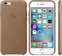 Купить Чехол Apple, Leather Case для iPhone 6/6s Saddle Brown (MKXT2ZM/A)