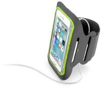 """Спортивный наручный чехол Cellular Line Armband Fitness Black (до 5,2"""")"""