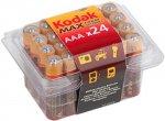 Батарейки Kodak Max LR03-24 plastic box