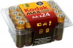 Батарейки Kodak Max LR6-24 plastic box