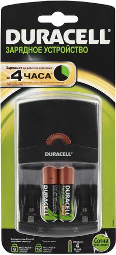 Зарядное устройство Duracell CEF14 + 2xAA, 1300mAh
