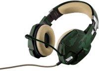 Игровые наушники Trust GXT 322C Gaming Green Camouflage, 20865