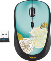TRUST YVI WIRELESS MOUSE FLOWER, 19521