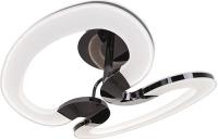 Светильник потолочный Idlamp Gala 410/2PF-LEDWetasphalt светильник потолочный idlamp cosma 395 3pf led white