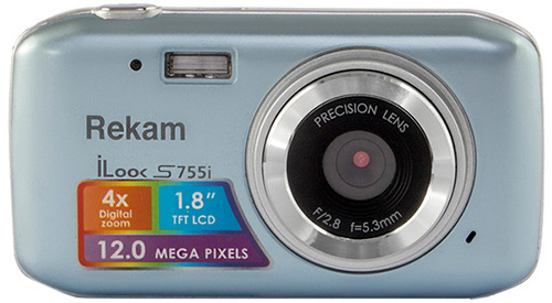 Цифровой фотоаппарат Rekam iLook S755i Metallic Gray