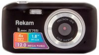 Цифровой фотоаппарат Rekam iLook S755i Black