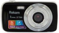 Цифровой фотоаппарат Rekam iLook S750i Black
