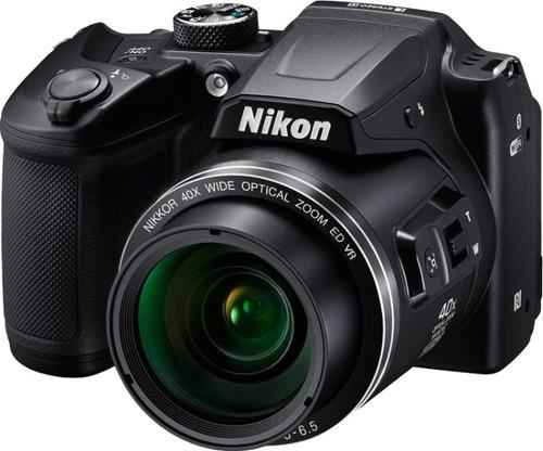 Купить Цифровой фотоаппарат Nikon, Coolpix B500 Black