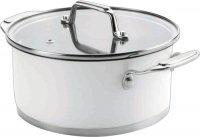Кастрюля с крышкой Lacor Cookware White, 4,2 л (43024)