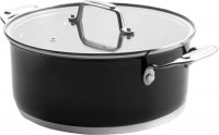 Кастрюля с крышкой Lacor Cookware Black, 2,8 л (44020)