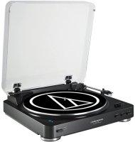 Проигрыватель виниловых дисков Audio-Technica AT-LP60BK-BT