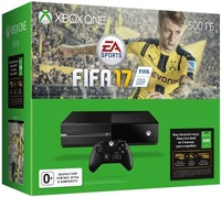 Игровая приставка Microsoft Xbox One 500 Gb + Игра FIFA 17 + Карта подписки Xbox Live (3 месяца) (5C7-00281)