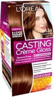 Крем-краска для волос L'Oreal Paris Casting Creme Gloss, оттенок 534 Кленовый сироп