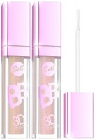 Блеск для губ Bell BB 3D Lip Gloss, тон №1 + тон №2, спайка