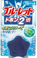 Таблетка для бачка унитаза Kobayashi Bluelet мята, с окрашиванием воды (32980) фото