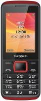 Мобильный телефон teXet TM-214 Black/Red