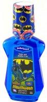 Ополаскиватель полости рта Dr. Fresh Batman с флюоридом (0,05%), со вкусом Bubble Gum, 237 мл (BM-2)