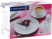 Чайный набор Luminarc Every Day, 18 предметов, G0596