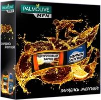 """Подарочный набор PALMOLIVE Men Заряд Энергии: Гель для душа """"Цитрусовый заряд"""", 250 мл + Спрей """"Активный день"""", 150 мл"""