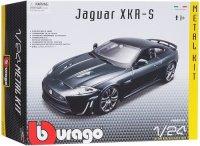 Модель машины для сборки Bburago Bburago Jaguar XKR-S, 1:24, цвет в ассортименте (18-25118)