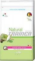Сухой корм Trainer Natural Maxi Junior для юниоров крупных пород от 9 месяцев до 2 лет, 3 кг