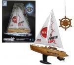 Лодка парусная на радиоуправлении 1toy Super Racing (Т58537)