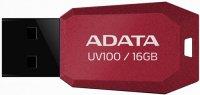 USB-флешка ADATA DashDrive UV100 16Gb Red (AUV100-16G-RRD)
