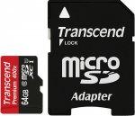 Карта памяти Transcend microSDXC 64GB Class 10 Premium (TS64GUSDXC10)