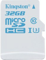 Карта памяти Kingston MicroSDHC Action Camera 32Gb UHS-I U3 (SDCAC/32GBSP)