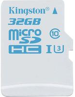 Карта памяти Kingston MicroSDHC Action Camera 32Gb UHS-I U3 (SDCAC/32GBSP) фото