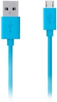 Кабель Belkin microUSB - USB, 2 м, Blue (F2CU012BT2M-BLU)