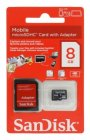 Карта памяти SanDisk Mobile microSDHC Class4 8Gb (SDSDQM-008G-B35A)